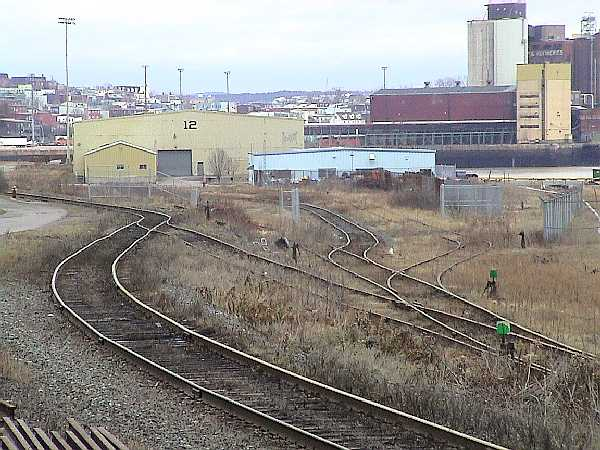 Saint John Port trackage