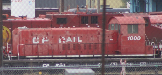 CP 1000 in Calgary, AB