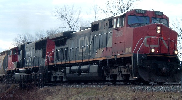 CN 2666 on CN 305 in Hampton