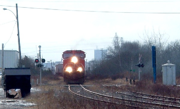 CN 305 leaving Saint John