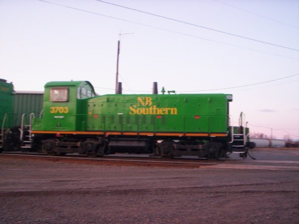 NBSR 3703 in McAdam, by Gary Lee