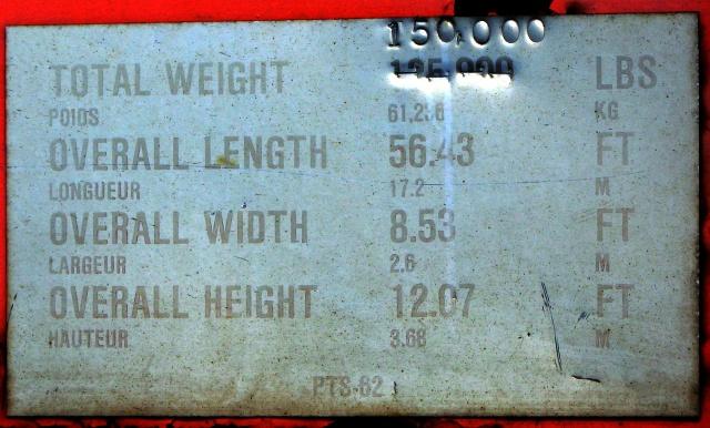 CN 619-28 data plate