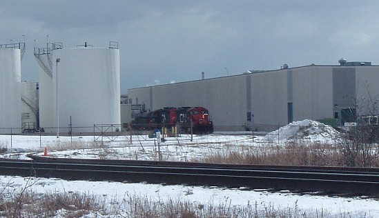 CN 7015 and 7000 in Saint John