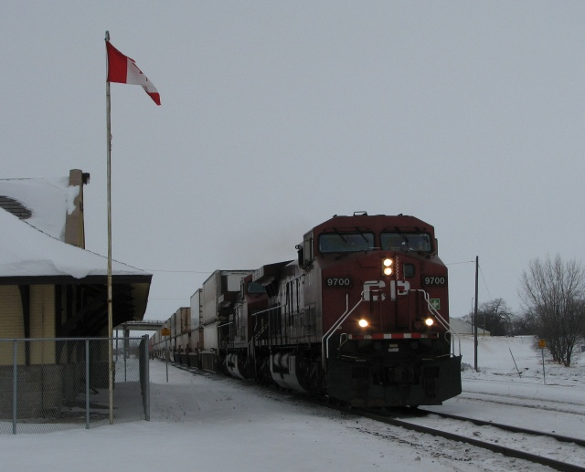 CP in Portage la Prairie, December 27 2007
