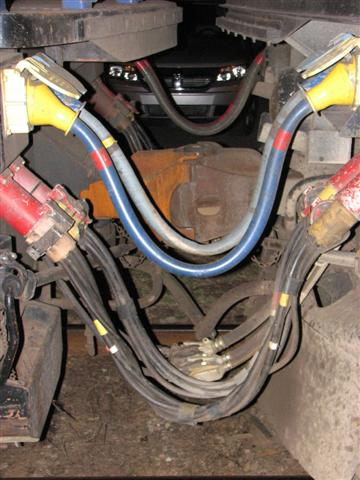Cabling between VIA engines