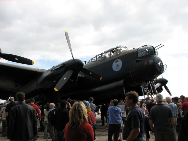 Avro Lancaster at the Western Canada Aviation Museum