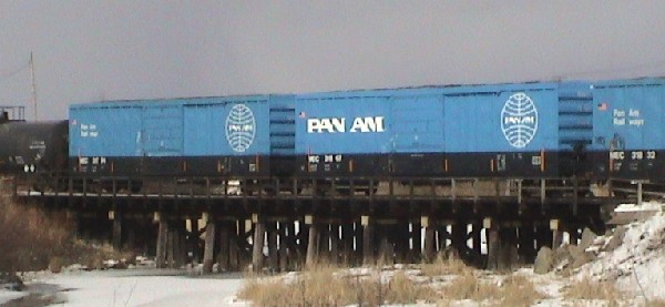 Pan Am Boxcars