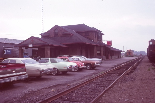 Fredericton Railway Station. Photo by Art Clowes