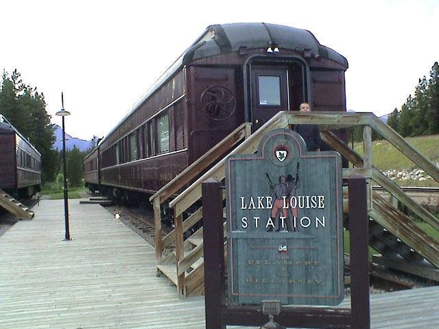 Lake Louise Station Sign