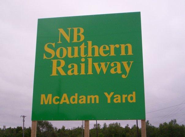 McAdam Yard Sign