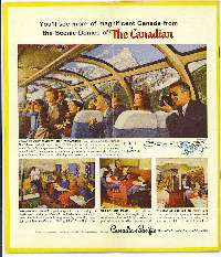 1958 Canadian Pacific dome ad