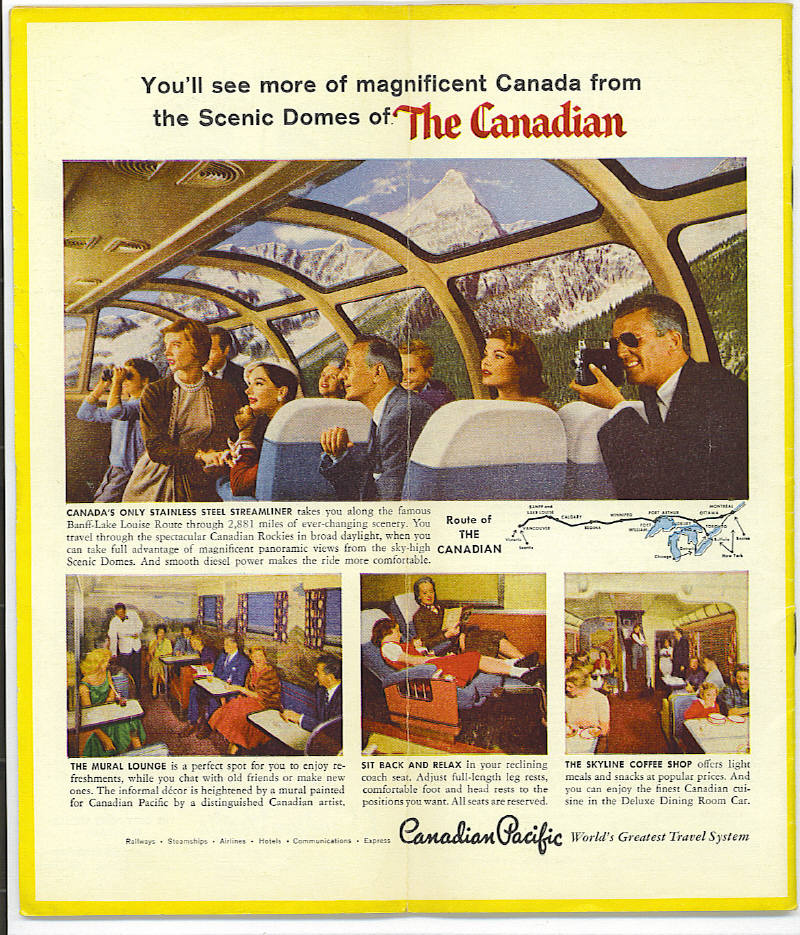Click images for larger version - Canadian Pacific Railway Advertisements Traingeek