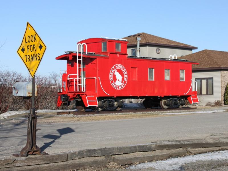 RR Contracting Caboose