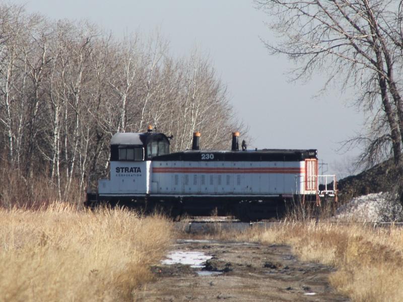 Strata locomotive Grand Forks