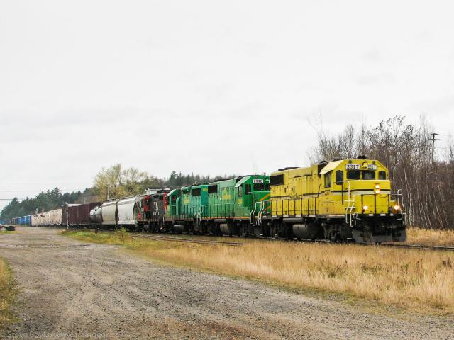 NBSR 2317 at Harvey, NB 2006/10/28