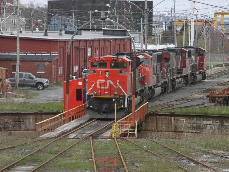 CN 8890 in Halifax