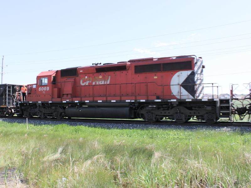CP 6069 in Winnipeg