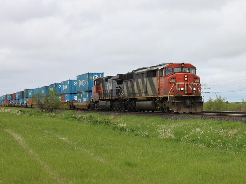 CN 5506 in Winnipeg