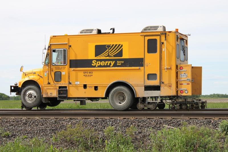 Sperry truck SRS 863