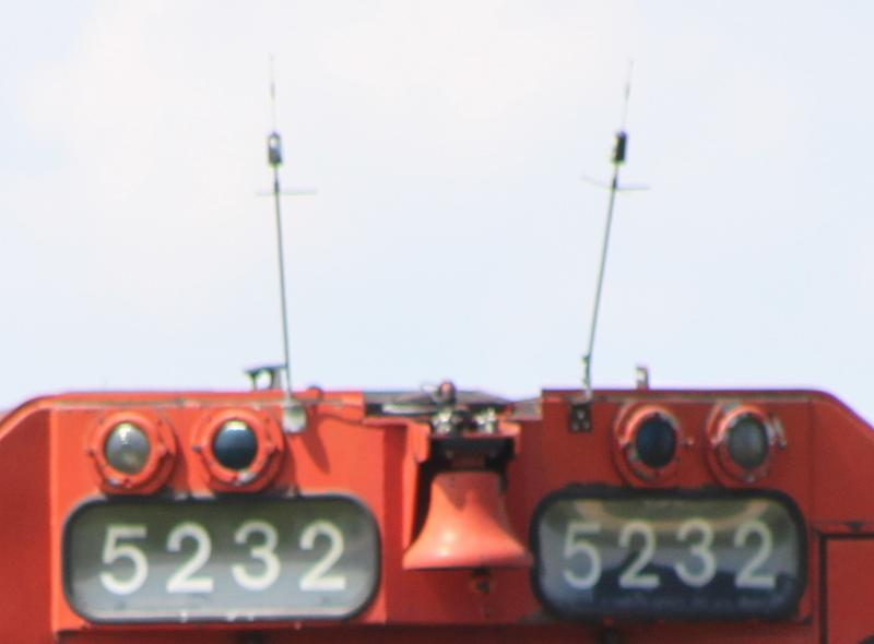 Antennas on CCGX 5232