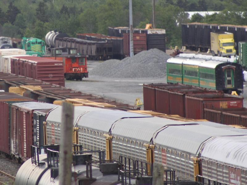 NB Southern's yard in Saint John