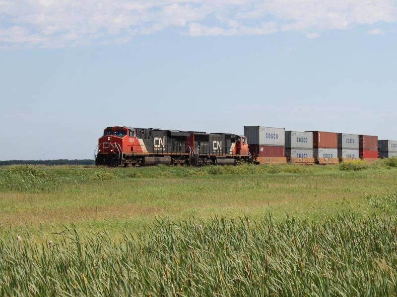 CN 2304 in Winnipeg