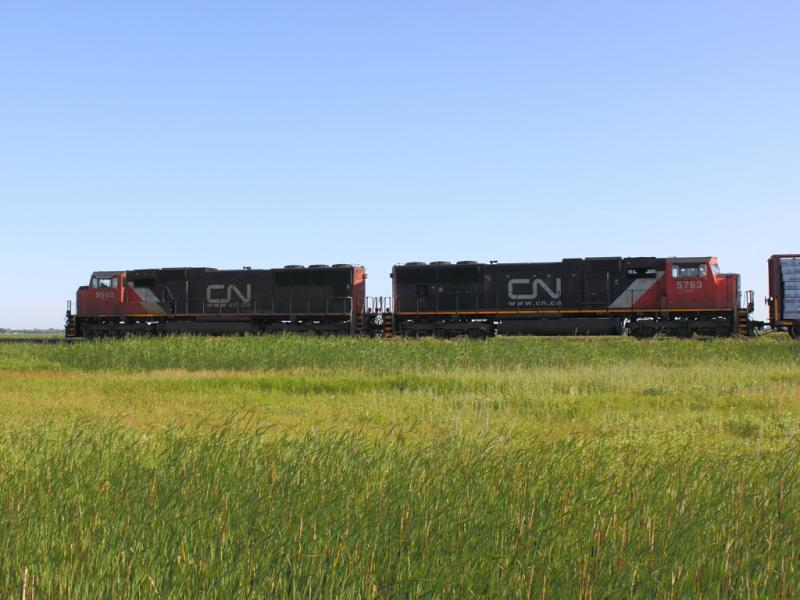 CN 5683 in Winnipeg