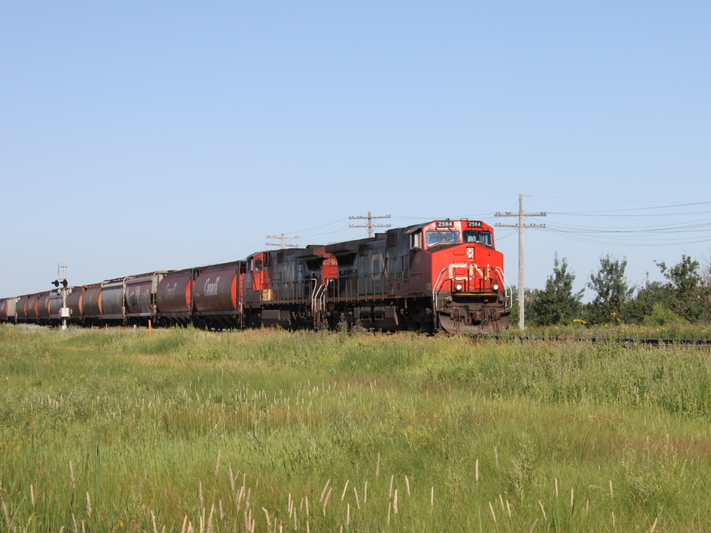 CN 2564 in Winnipeg, MB 2011/07/12