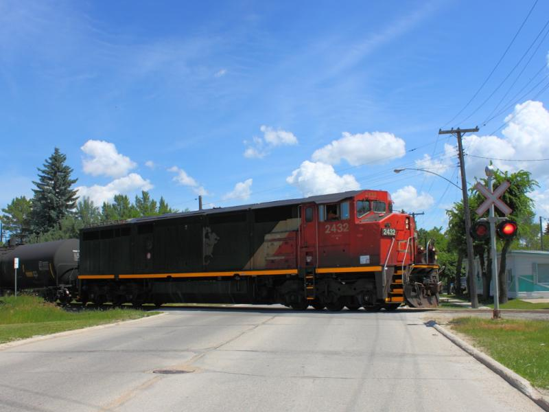 CN 2432 in Winnipeg