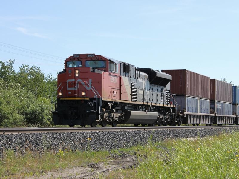 CN 8959 in Winnipeg