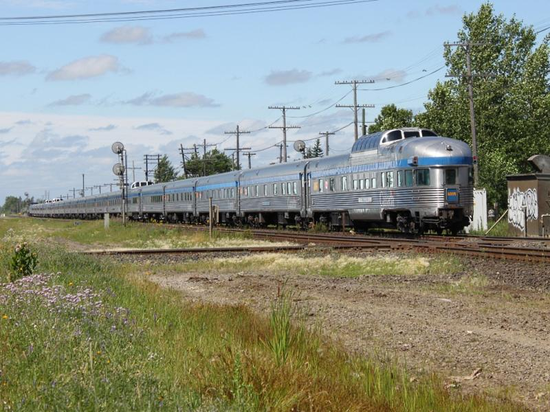 VIA's Canadian passenger train