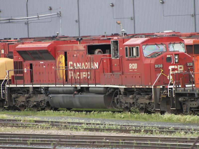 CP 9143 in Winnipeg