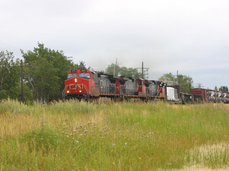 CN 2650 in Winnipeg