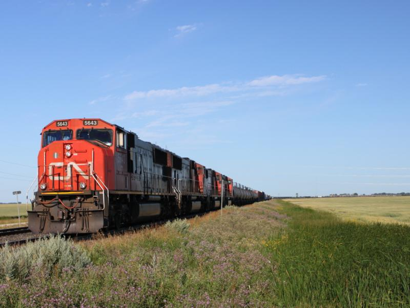 CN 5643 in Winnipeg