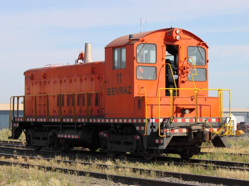 Evraz engine #11 in Regina