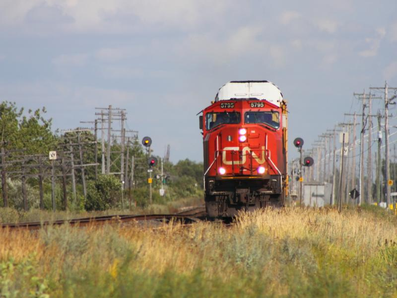 CN 5795 in Winnipeg