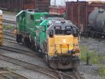HLCX 906 in Saint John, NB 2011/08/28