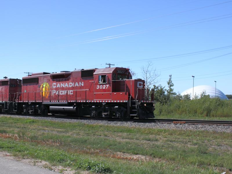 CP 3027 in Winnipeg