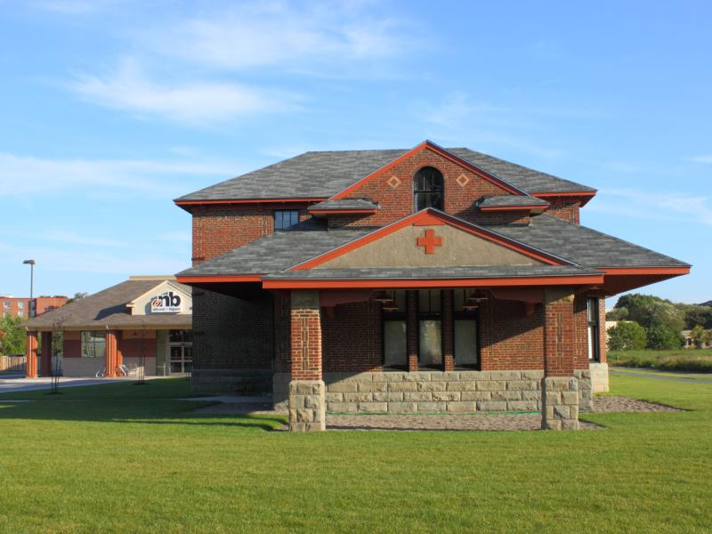 Fredericton Train station