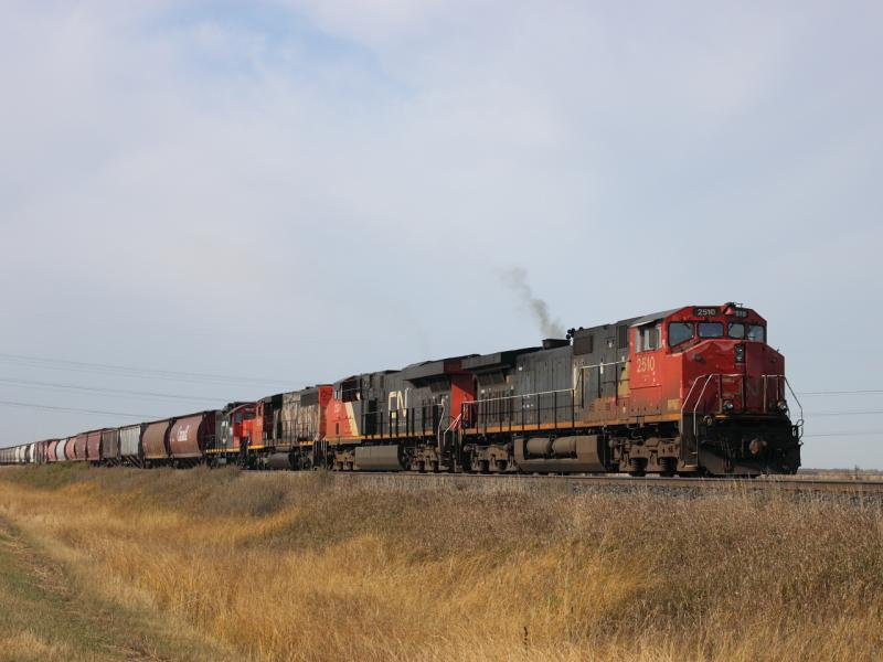 CN 2510 in Winnipeg