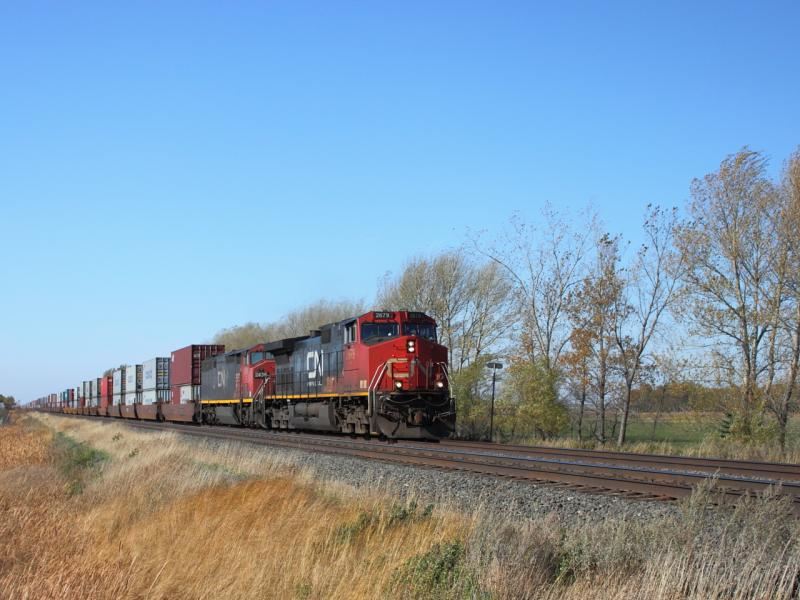 CN 2679 in Winnipeg