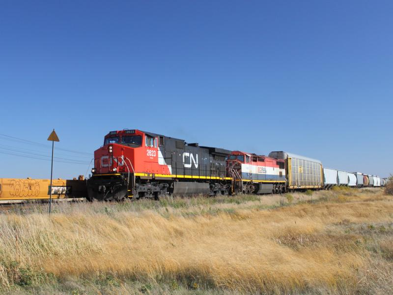 CN 2623 in Winnipeg