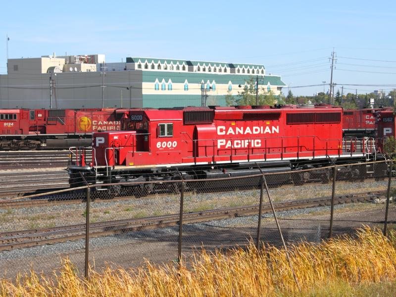 CP 6000 in Winnipeg, MB 2011/09/24