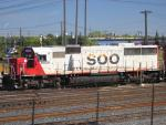 SOO 6026 in Winnipeg, MB 2011/09/24