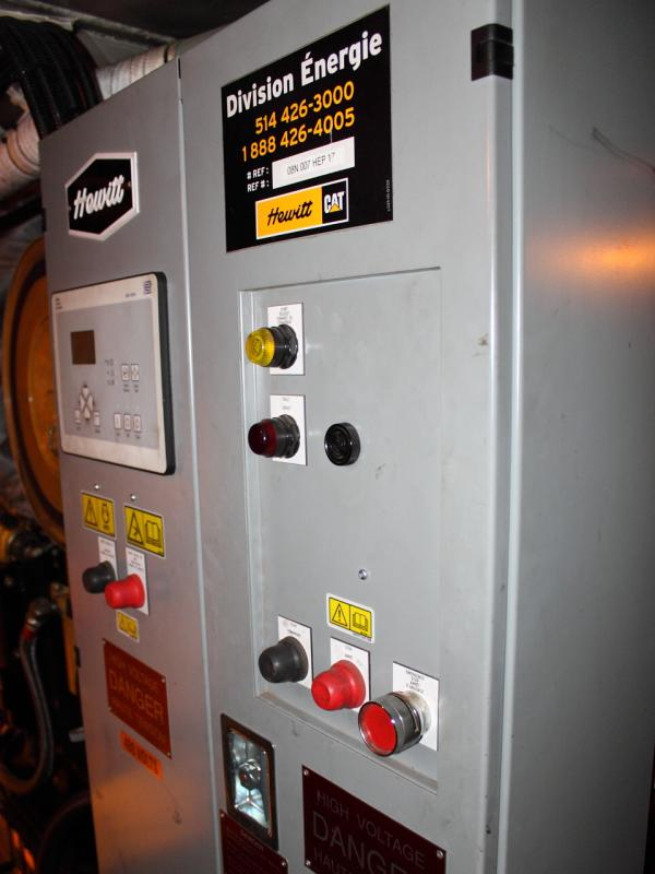 HEP control box in VIA 6429
