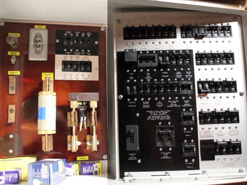 Breaker Panel in VIA 6429