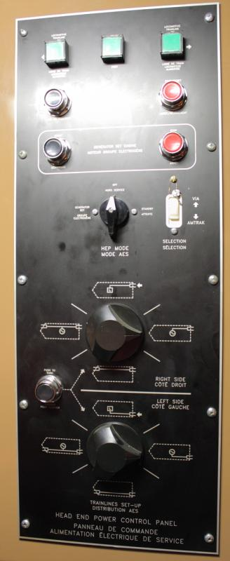 HEP Control Panel in VIA 6429