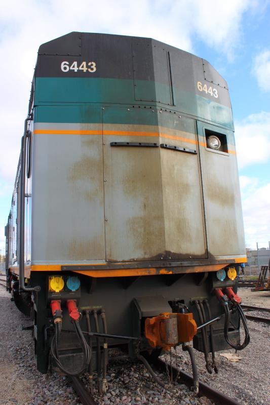 VIA 6443 in Winnipeg 2011/10/14