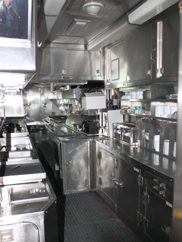 Kitchen of diner Annapolis in Winnipeg 2011/10/14