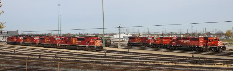Canadian Pacific Railway (CPR) shops in Winnipeg